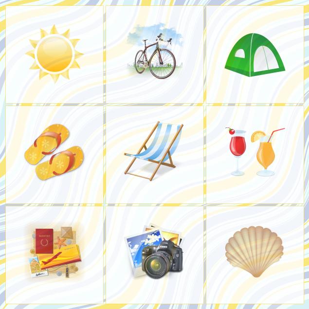 Vocabular pentru sezonul estival